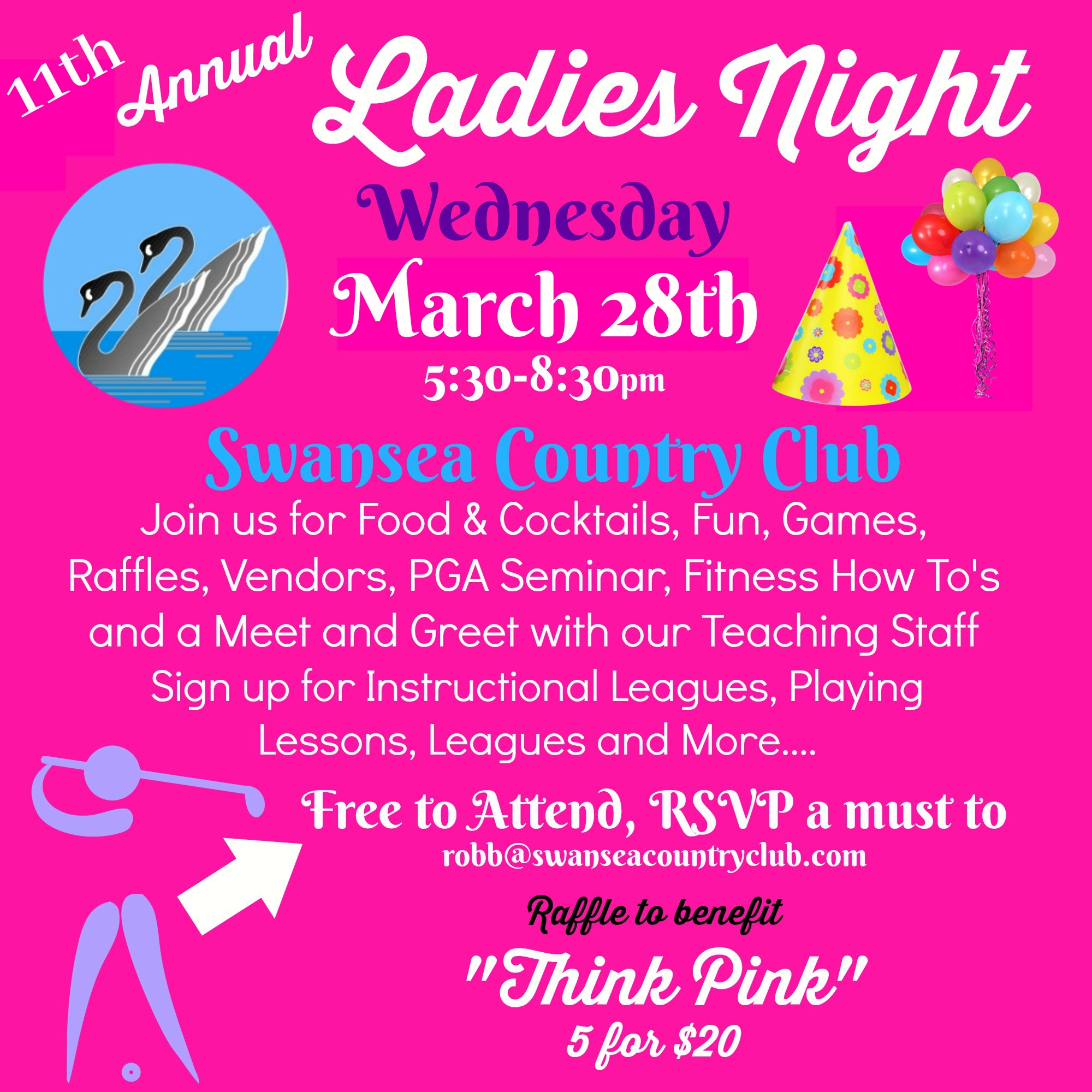 11th annual ladies night