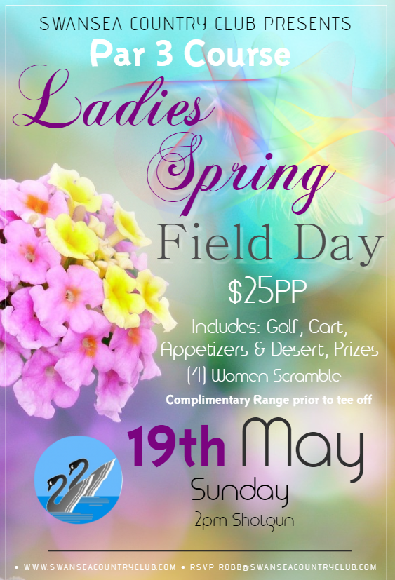 2019 Ladies Spring Field Day